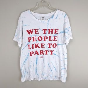 PINK | Political Party Tie Dye Tee